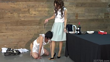 Japanese Femdom Reiko Butler Slave Domestication Training
