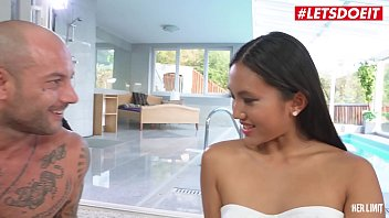 Letsdoeit - Sexy Teen Asian Gets Her Tigh Ass Destroyed By Big White Cock (May Thai & Mike Angelo)