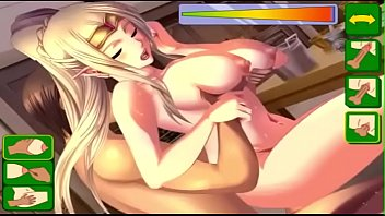 Hentai Fuck Game Busty Blonde Princes Sex Game