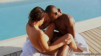 Exotic sex performers Outdoor ebony couple pool sex outdoor anal sex was performed by ebony couple in