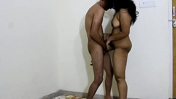 Indian Hot Horny Bhabhi Sex With Dever In Standing Position