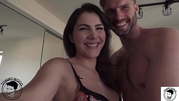 Passionate date ass eating with all natural big booty milf Valentina Nappi