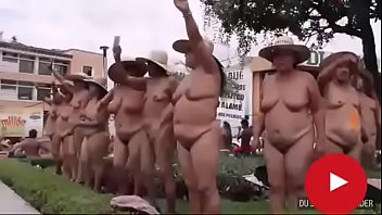 NUDE PROTEST
