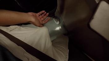 Unknown Blonde Milf Grabbing My Dick In Subway Metro
