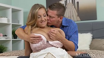 MOM Tit wank heaven with plump milf with huge natural tits
