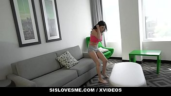 SisLovesMe - Beautiful Teen Lets Her Stepbrother Cum On Her Big Tits