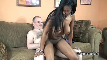 Busty slut Mercy Starr takes some dick in her black twat