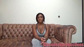 Big titty ebony anal casting