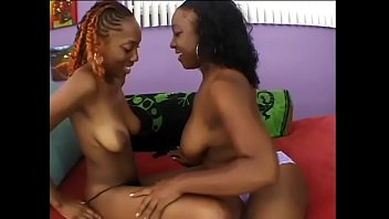 Horny black girl with nice tits Beauty Dior and Vida Valentine get her pussy fucked with a big dildo