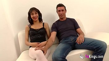 Spanish husband watches powerlessly his teen wife being pounded by another man Vorschaubild