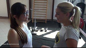 Stunning Christen Courtney fucks in the gym