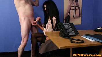 Streaming Video British cfnm femdom cocksucking sub in office - XLXX.video