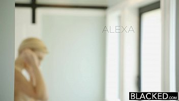 BLACKED Blonde Girlfriend Alexa Grace Cheats with BBC thumbnail