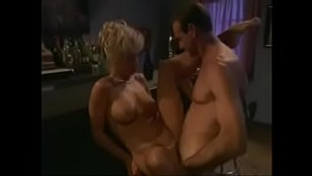 Classy blonde lady fucked by big cock of freaky ugly bastard (2)