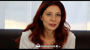 CastingCouch-X - Small town Ashlynn Molloy is curious to fuck on camera