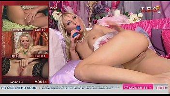 Sexy czech Telephone/TV sex showgirl