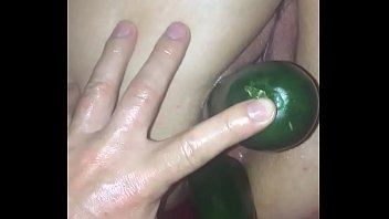 Pussy and asshole filled