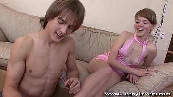 Teeny Lovers - Ira Loves His Abs And Cock