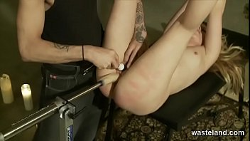 Hot Blonde Cums For Fake Cock