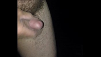 Wanking outdoors and shooting my load