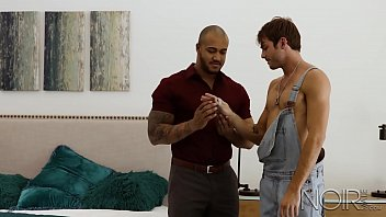Free mpegs of hugest gay male cocks Noirmale max adonis analized by black muscle hunk jason vario