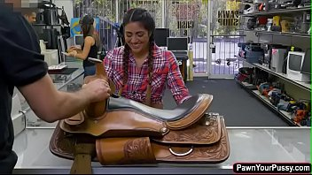 Lexie Banderas Banged In The Pawnshop