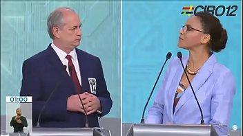 Coroné e veia comem o rabo de candidato cagão metido a macho mas foge do debate para presidência.