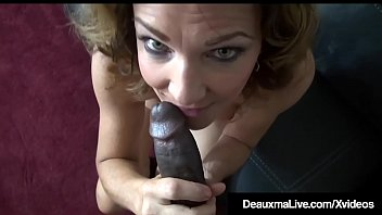 Wild Cougar Deauxma Drilled By Big Black Repoman Cock!