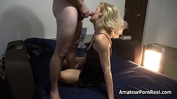 Russian Amateur Mature Wife Sexy Lingerie Dick Cum