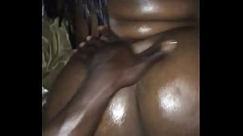 BBW Ebony Taking BACKSHOTS frm BBC