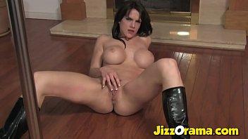 Jizzorama - Pole Dancing Mom Show Us Big Silicon Boobs