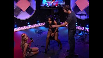 Tv celebs showing sexy stockingtops Octomom rides sybian on howard stern show