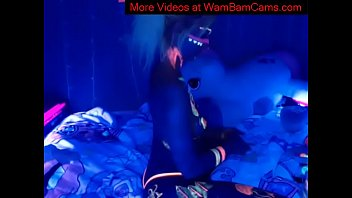 Rave Teen  Plays With Herself - More VIdeos at WamBamCams.com