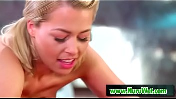 Slippery nuru massage - Zoey Monroe & Codey Steele