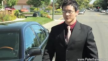 Hot Korean office guy