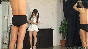 Strapon on femdom Japanese femdom emiru strapon