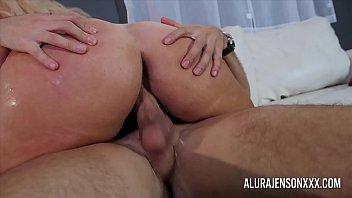Big tit cougar Alura Jenson loves fucking younger men thumbnail