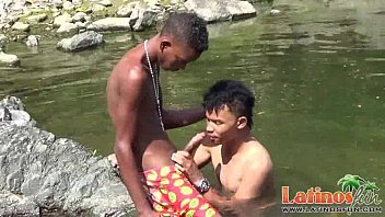 Gay japanese swimmers gaytube Teen gay swimmer playfully going down in the river