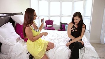 Lesbian mother daughter long hairplay video - The groupie stepmom and daughter - mindi mink, bobbi dylan