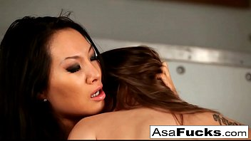 Dani Daniels captures Asa Akira then bangs her