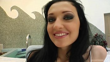 Aletta Ocean in gonzo creampie scene by All Internal
