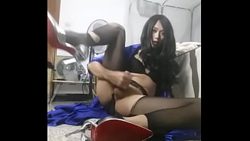 Chinese crossdresser hot masturbation - TScamdolls.com