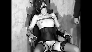 Free xxx electricity play videos Sue logue - test electric chair and electrostimulation
