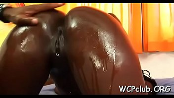 White bitch gets jizz in mouth after anal sex with black boy