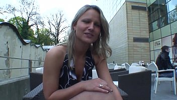 Real Czech Waitress Fucks For Money With A Client