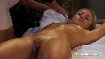 Disappeared On Arrival 2: Handcuffed Blonde Nude Massage With Maid