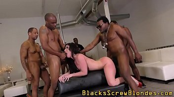 Ho bukkaked by black rods