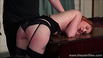 Domination submission games Redhead submissive ellarnas spanking and erotic domiation of sexy masochist in bdsm and kinky fetish games