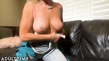 ADULT TIME - Mature Beauty Payton Hall is HOT for Step-Grandson