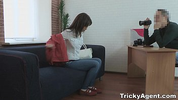 Tricky Agent - A dream girl Iva Zan, teen porn gets fucked by an Agent